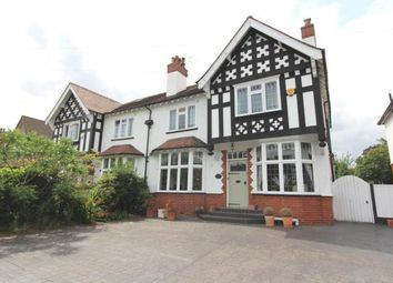Thumbnail 4 bed detached house for sale in Woodford Road, Bramhall, Stockport, Cheshire