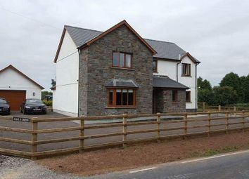 Thumbnail 4 bed detached house to rent in Penrhiwpal, Rhydlewis