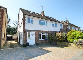 Thumbnail 4 bed semi-detached house for sale in Pickets Close, Bushey Heath, Bushey