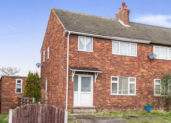 Thumbnail 3 bedroom semi-detached house for sale in Wesley Avenue, Swallownest, Sheffield