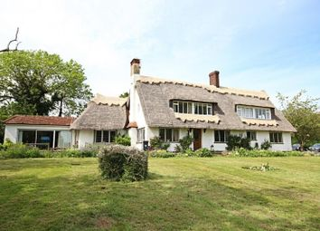 Thumbnail 4 bed detached house to rent in The Thatched Cottage, Little Hallingbury Park, Little Hallingbury, Essex