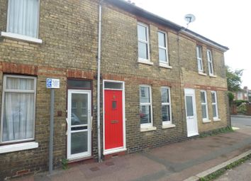 Thumbnail 2 bed terraced house to rent in Burrow Road, Folkestone