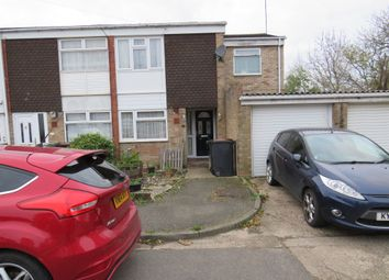 Thumbnail 3 bed end terrace house for sale in Ponds Close, Raunds, Wellingborough