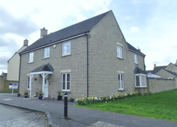 Thumbnail 4 bedroom detached house for sale in Stickleback Road, Calne