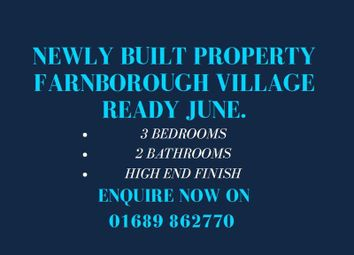 Thumbnail 3 bed detached house for sale in Gladstone Road, Farnborough, Orpington