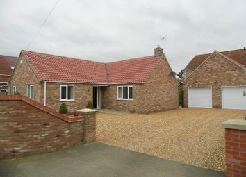 Thumbnail 3 bedroom detached bungalow for sale in Hill Road, King's Lynn