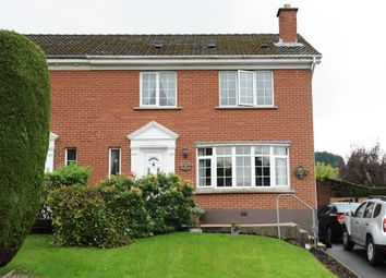 Thumbnail 3 bedroom semi-detached house for sale in Hanwood Park, Dundonald, Belfast