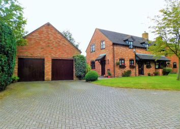 Thumbnail 4 bed detached house for sale in Church Down, Hilderstone, Stone