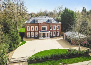 Thumbnail 6 bed detached house for sale in Onslow Road, Burwood Park, Hersham, Walton-On-Thames