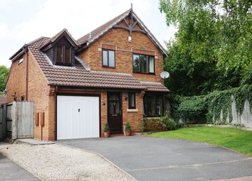 Thumbnail 3 bedroom detached house for sale in Ensor Close, Blunsdon, Swindon