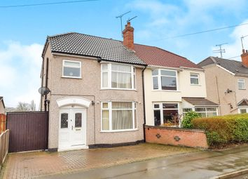 Thumbnail 3 bedroom semi-detached house for sale in Fir Tree Avenue, Tile Hill, Coventry