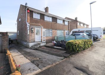 Thumbnail 3 bed semi-detached house for sale in Farman Close, Swindon