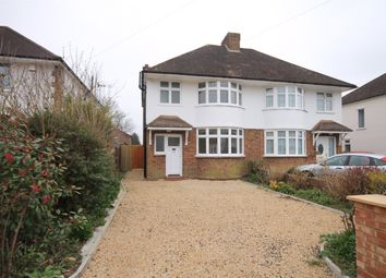 Thumbnail 3 bed semi-detached house to rent in Parkway, Horley, Surrey