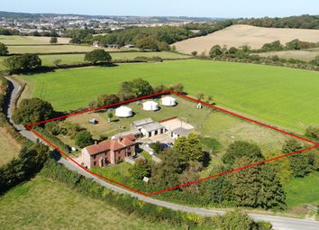 Thumbnail 3 bed farmhouse for sale in Burnt House Lane, Newport