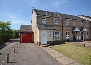 Thumbnail 3 bed end terrace house for sale in Desborough Way, Thorpe St. Andrew, Norwich
