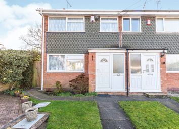 Thumbnail 3 bed end terrace house for sale in Woodgate Drive, Woodgate, Birmingham