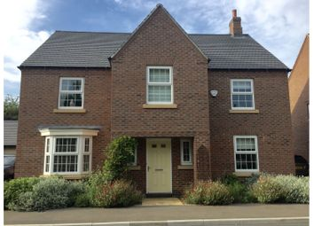 Thumbnail 4 bed detached house for sale in Longbreach Road, Kibworth