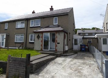 Thumbnail 3 bed semi-detached house for sale in Min Y Ddol, Bangor