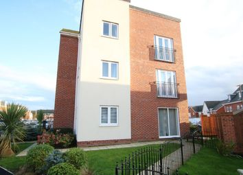 Thumbnail 2 bed flat for sale in Burghley Close, Washington