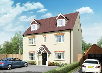 "Thumbnail 4 bed detached house for sale in ""The Hampton"" at Lower Road, Chalfont St. Peter, Gerrards Cross"
