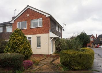 Thumbnail 3 bed semi-detached house for sale in Rennishaw Way, Northampton