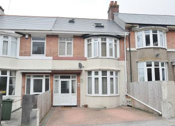 Thumbnail 4 bedroom terraced house for sale in Queens Road, Lipson, Plymouth
