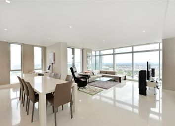 Thumbnail 3 bed flat for sale in Pan Peninsula Square, London