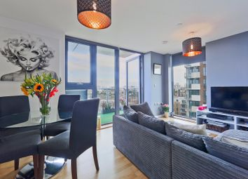 Thumbnail 2 bed flat for sale in Parkside Avenue, Greenwich