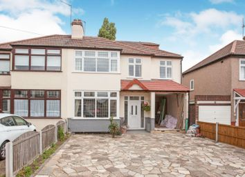 Thumbnail Semi-detached house for sale in Belgrave Avenue, Romford