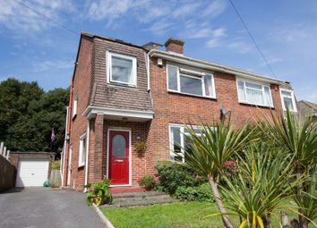 Thumbnail 3 bed semi-detached house for sale in Southwell Road, Plymouth