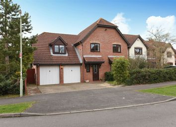 Thumbnail 4 bed detached house for sale in Payley Drive, Wokingham, Berkshire