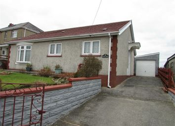 Thumbnail 2 bedroom detached bungalow for sale in Cefn Byrle Road, Coelbren, Neath, Powys