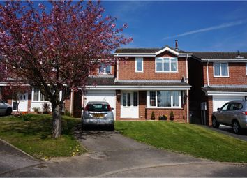 Thumbnail 4 bed detached house for sale in Regis Close, Derby