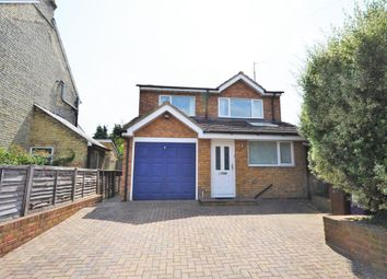 Thumbnail 4 bed detached house to rent in Green Street, Royston, Herts
