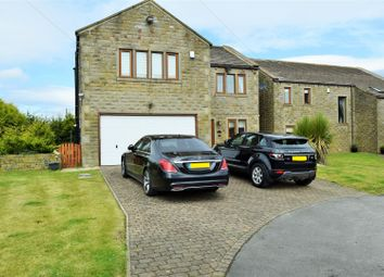 Thumbnail 5 bed detached house for sale in Calder View Court, Shelf, Halifax
