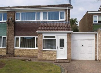Thumbnail 3 bed semi-detached bungalow for sale in Mirlaw Road, Cramlington