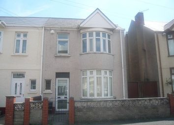 Thumbnail 3 bed semi-detached house to rent in Maesgwyn Street, Port Talbot