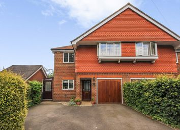 Thumbnail 4 bed semi-detached house for sale in Merland Rise, Epsom, Surrey.