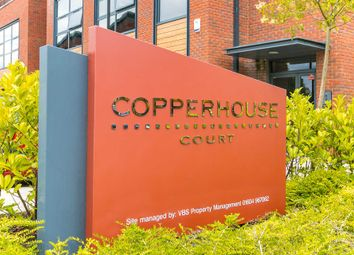 Thumbnail 2 bed flat for sale in Copperhouse Court, Caldecotte, Milton Keynes