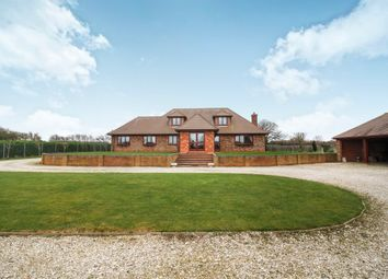 Thumbnail 5 bedroom detached house for sale in West Hann Lane, Barrow Haven, Barrow-Upon-Humber