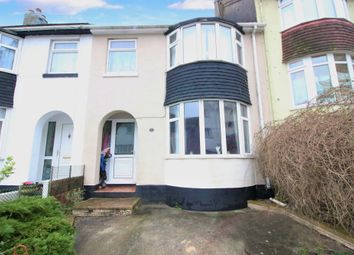 3 bed terraced house for sale in Grange Road, Torquay TQ1