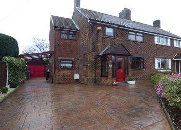 Thumbnail 4 bed semi-detached house for sale in Hillside Road, Offerton, Stockport
