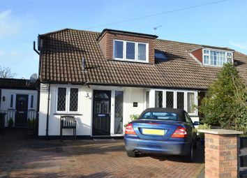 Thumbnail 4 bed semi-detached house for sale in Edenfield Gardens, Worcester Park