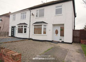 Thumbnail 3 bed semi-detached house for sale in Mayfield Grove, Rhyl