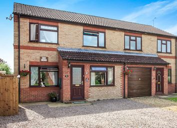 Thumbnail 3 bed semi-detached house for sale in Brudenell Close, Baston, Peterborough