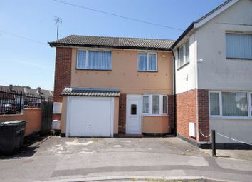 Thumbnail 2 bed semi-detached house for sale in Hartington Road, Gosport
