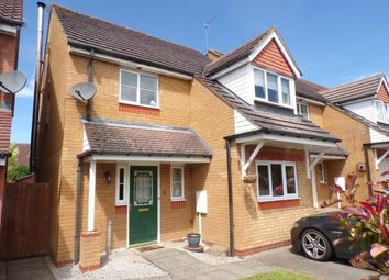 Thumbnail 3 bed detached house for sale in Villagers Close, Wootton, Northampton, Northamptonshire