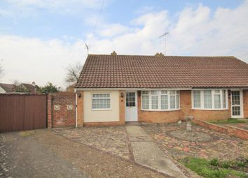 Lingfield Close, Salvington, Worthing BN13. 2 bed semi-detached bungalow for sale