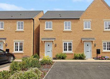 Thumbnail 2 bedroom semi-detached house for sale in Wheatsheaf Way, Waterbeach, Cambridge