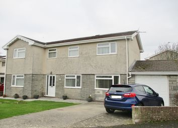 Thumbnail 4 bed detached house for sale in Stonechat Close, Rest Bay, Porthcawl